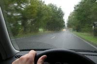 Voznja po kisi